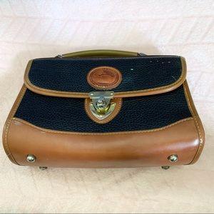 Dooney & Bourke Vintage Equestrian Leather Purse